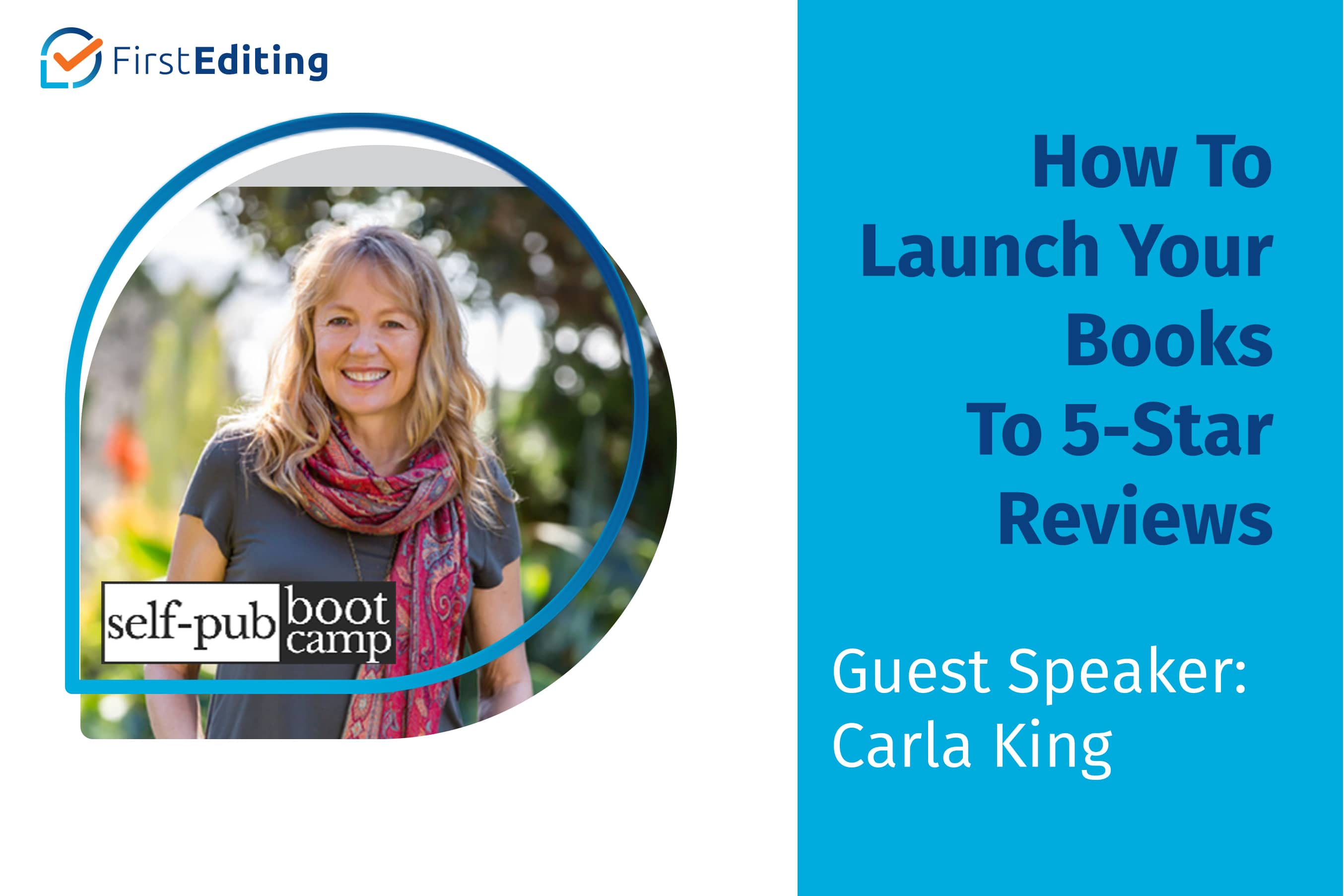 How To Launch Your Book To 5-Star Reviews with Carla King