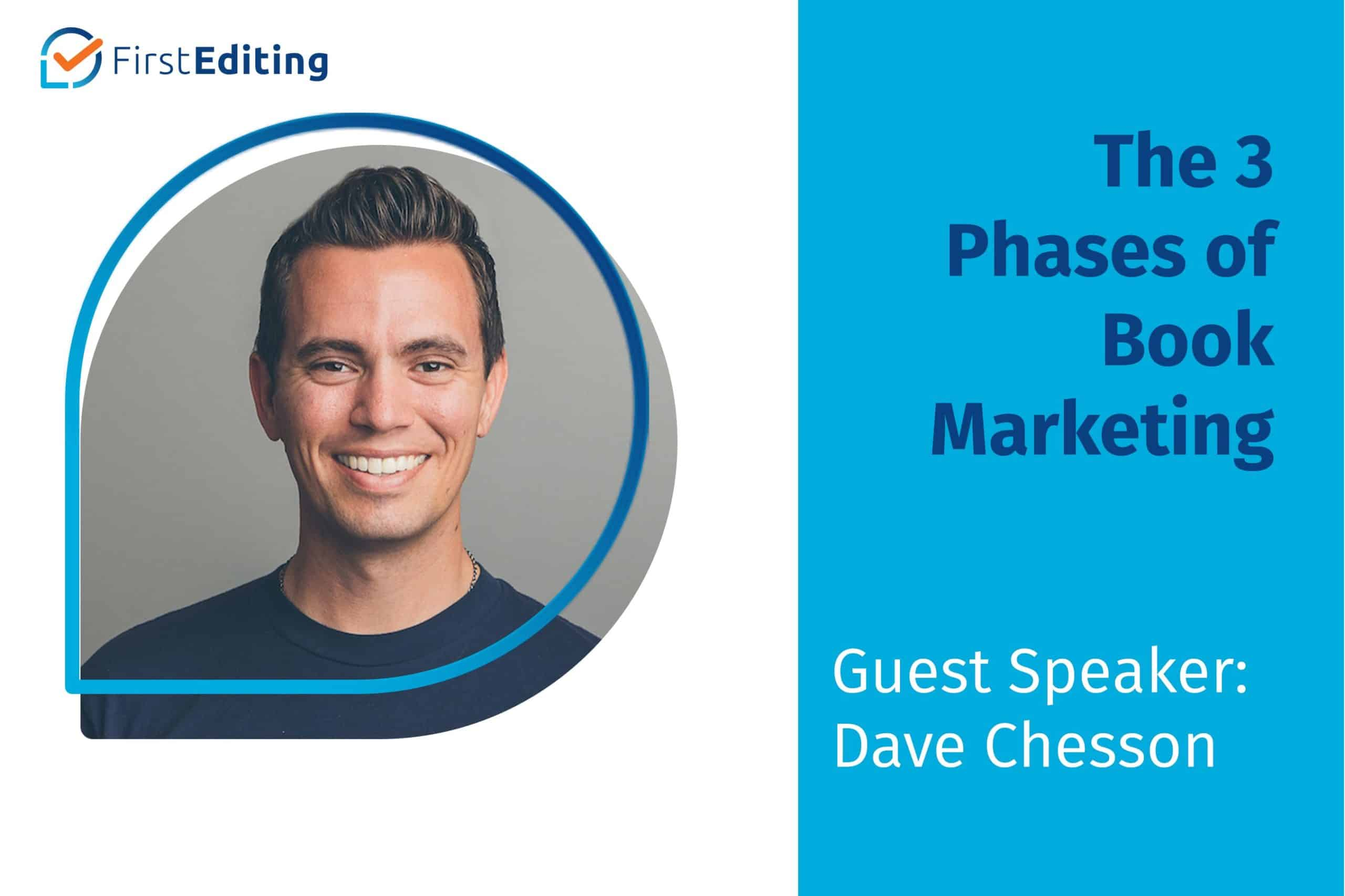 The 3 Phases of Book Marketing with Dave Chesson