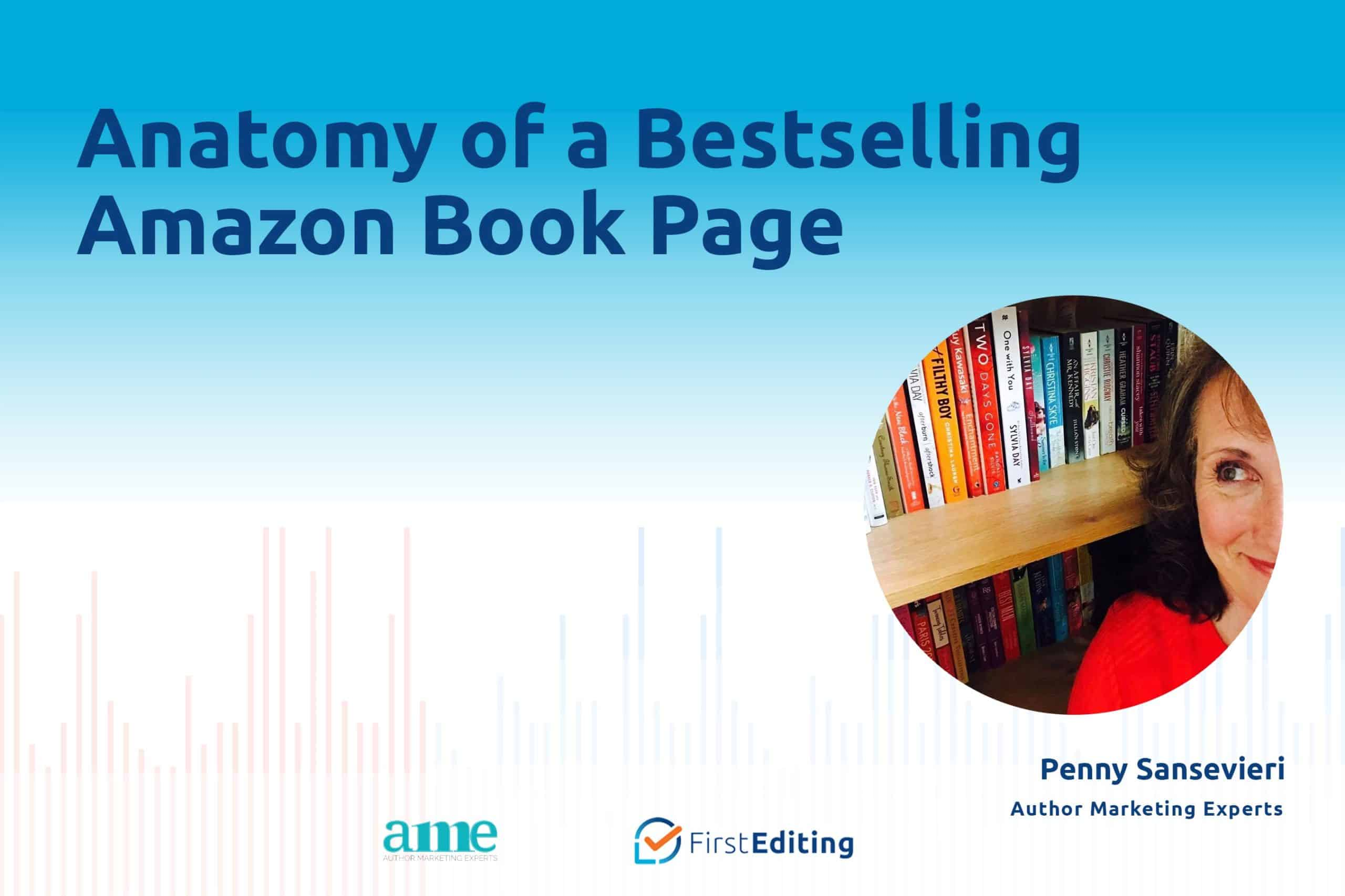 Anatomy of a Bestselling Amazon Book Page with Penny Sansevieri