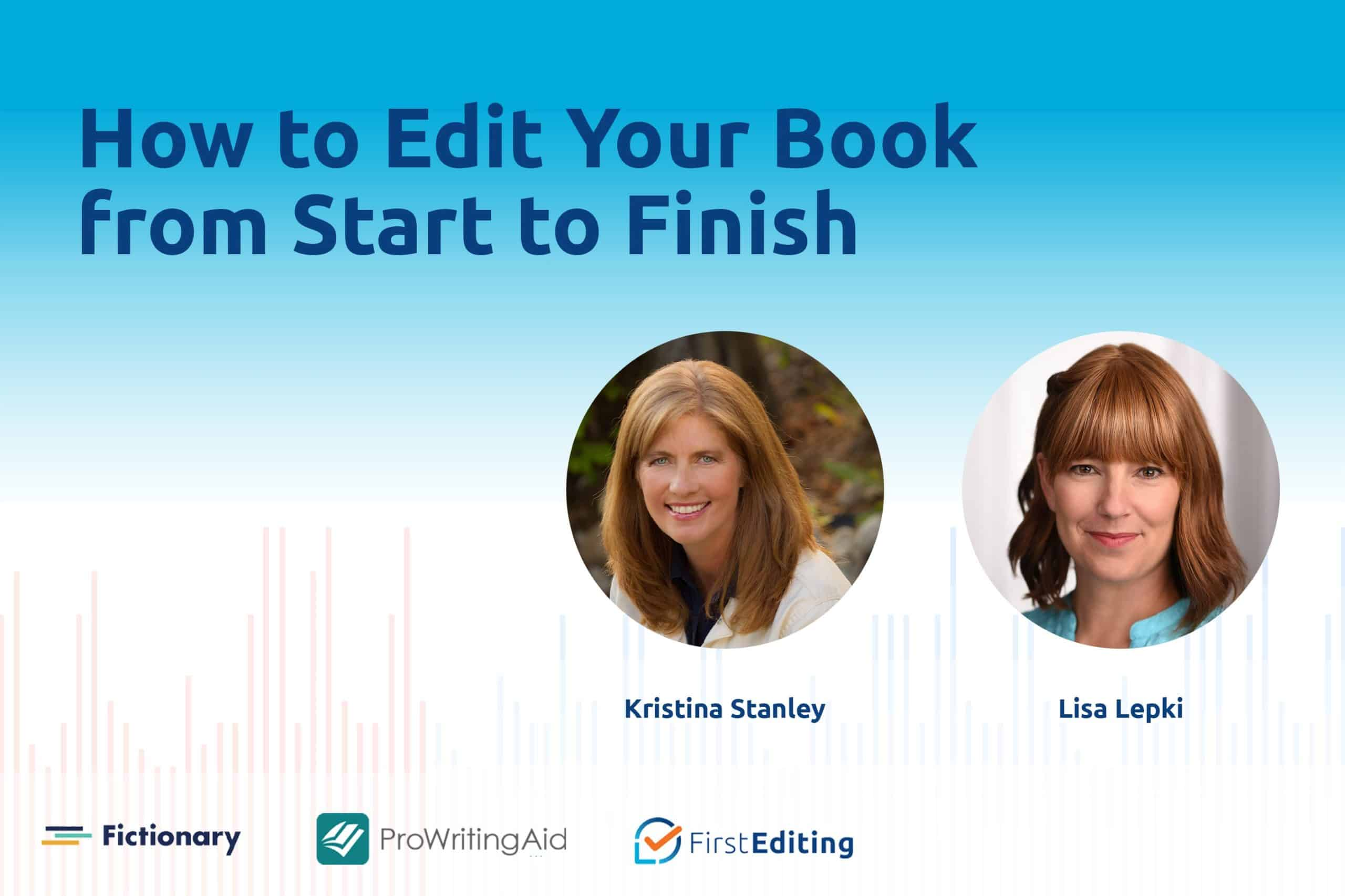 How to Edit Your Book from Start to Finish