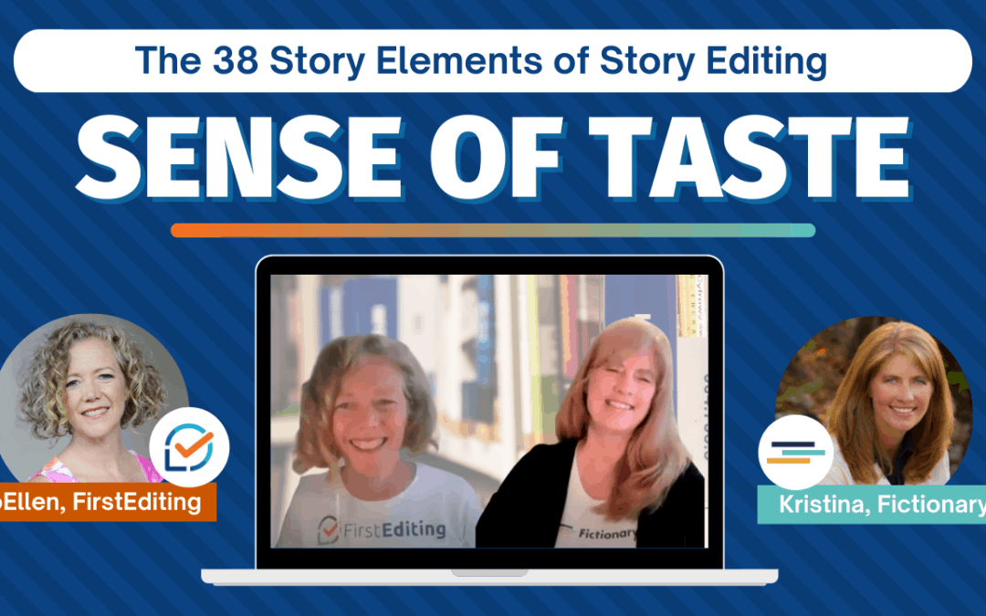 Sense of Taste – Improve Your Fiction Writing
