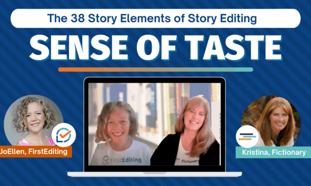 Sense of Taste – Improve Your Fiction Writing